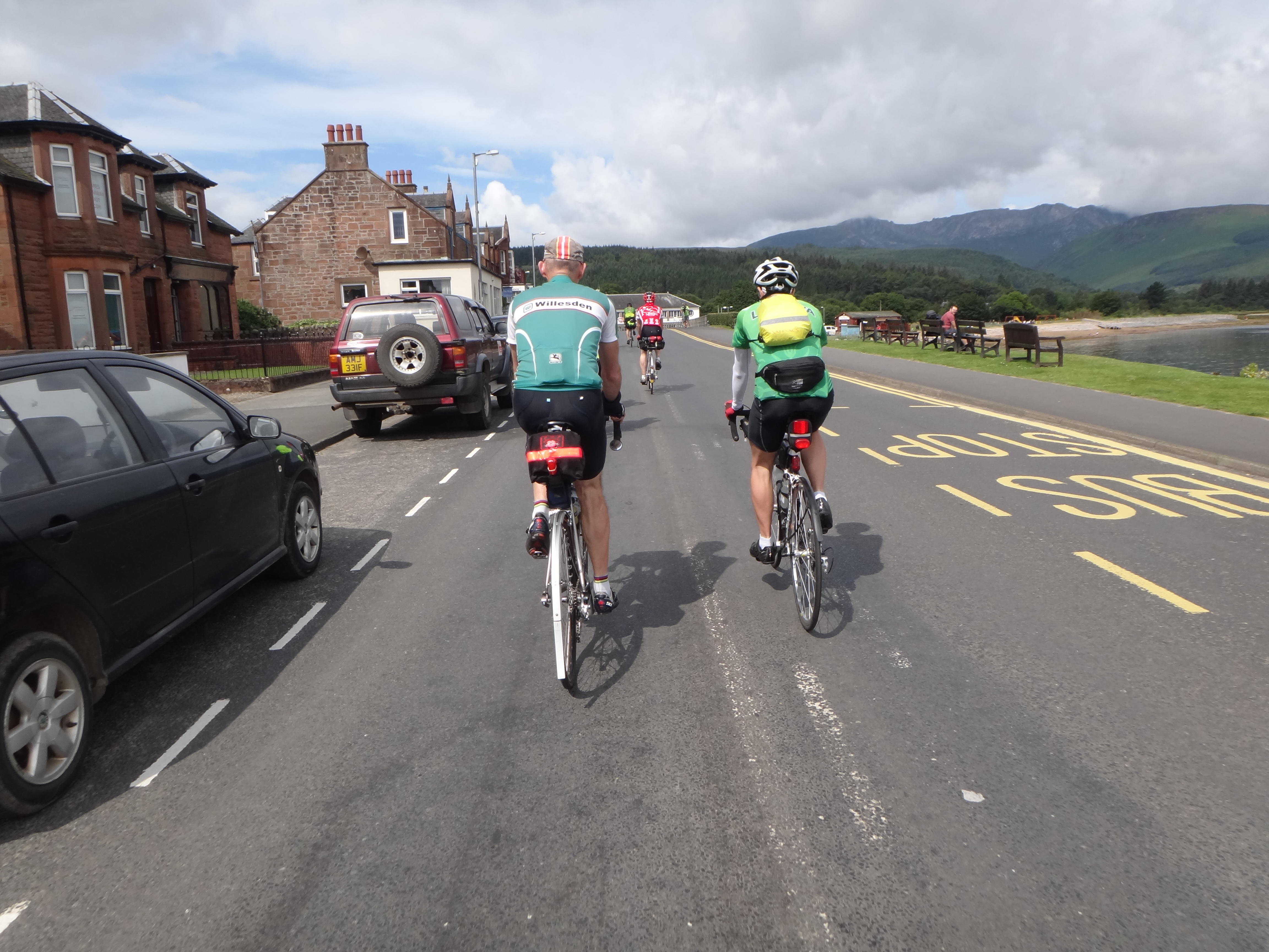 Brodick: finally we're off