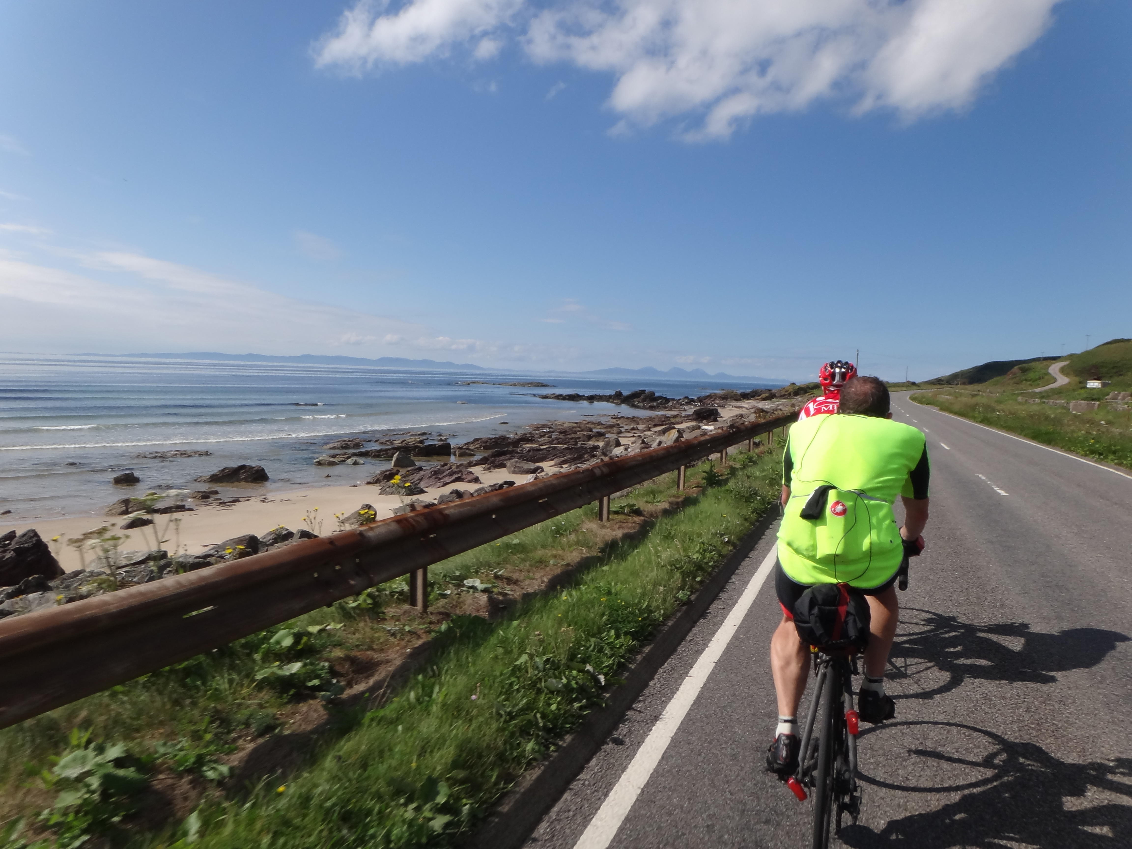 Wide, straight and lot flatter: Kintyre northwards