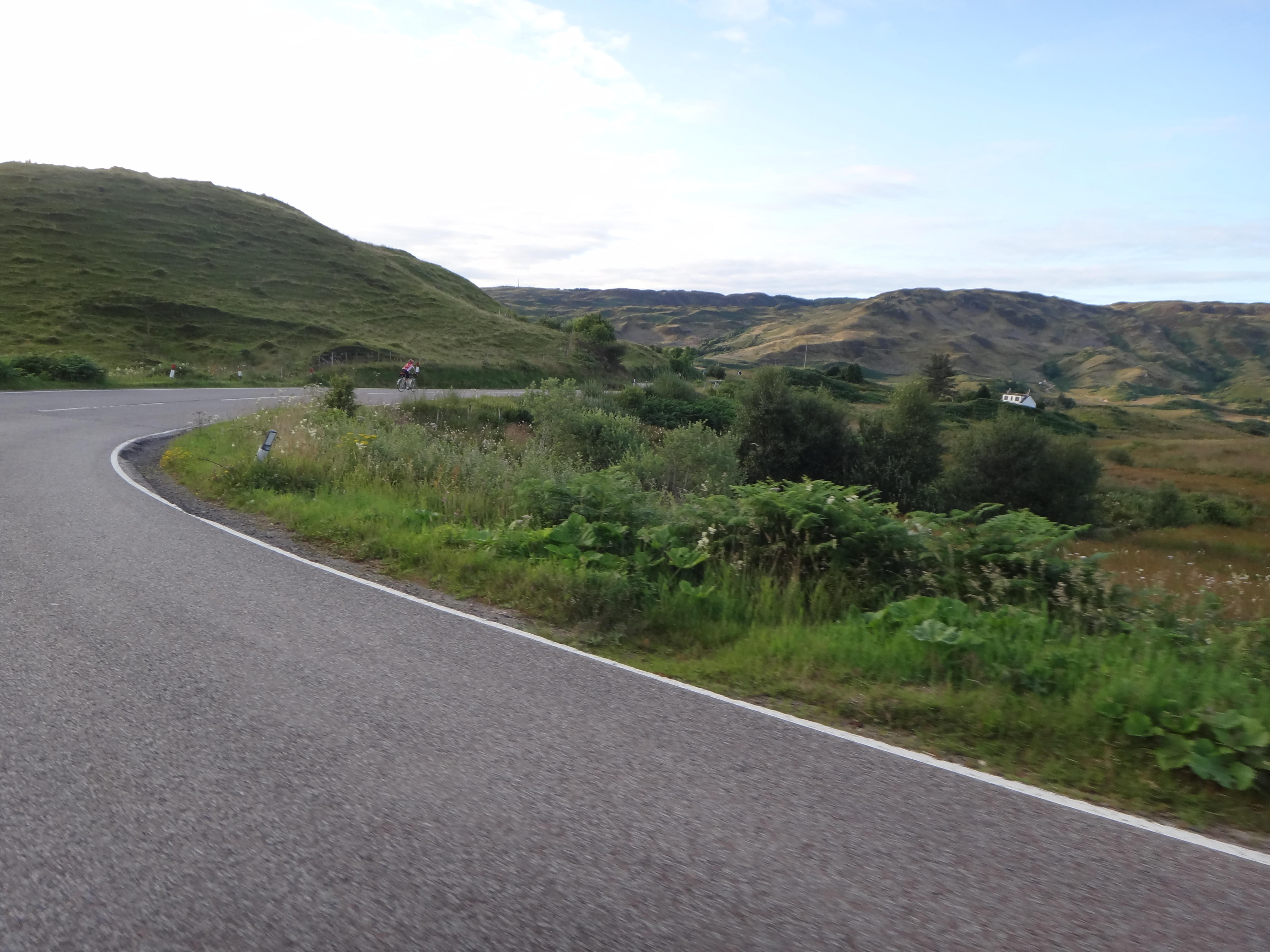 Between Lochgilphead and Oban